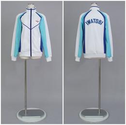 $enCountryForm.capitalKeyWord Canada - Free! Long-sleeved jersey iwatobi swim club jacket Uniform Seven Ayase Cosplay Costume Anime cosplay halloween cosumes