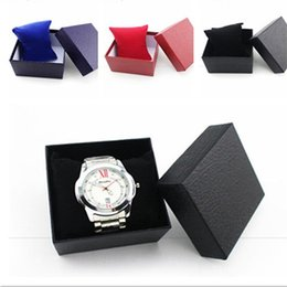 $enCountryForm.capitalKeyWord NZ - fashion unique Durable Present Gift Box Case For Bracelet Bangle Jewelry Watch Box in stock colors