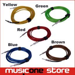 Опт 3M FD Высокий инструмент защиты от помех Интерфейс гитары Бас 6.5 мм между мужчинами Аудио соединение ПВХ Кабель Шнур MU0576