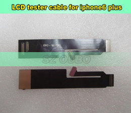 lcd tester Australia - LCD touch screen Digitizer Extension Tester Test Flex Cable for iPhone 6 plus Extended Testing 5pcs lot