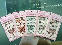$enCountryForm.capitalKeyWord Canada - 240Pcs Crystal Resin Rhinestone Sunflower Stone 8MM Marquise Cream Pearl Mash Up Flower   Butterfly Phone DIY Sticker DHL Free Shipping
