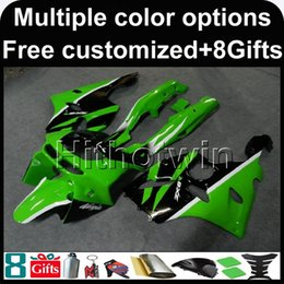 $enCountryForm.capitalKeyWord Australia - 23colors+Botls green ABS Fairings motorcycle cover For Kawasaki ZX-6R 1994-1997 ZX6R 94 95 96 97 red blue Motorcycle Body Kit