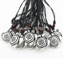 $enCountryForm.capitalKeyWord Australia - Hot Wholesale 12pcs Hand Carved Taino Sun Smile face Hawaii Surfing Turtle Pendant Lucky Necklace Gift MN378