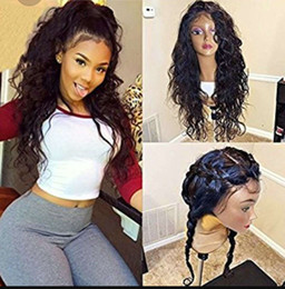 lace front bundles NZ - 360 Lace Frontal with Bundles Wigs Pre Plucked 360 Lace Front Wig 360 Human Hair Wig for Black Women Brazilian Virgin Hair Wig