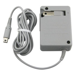 US UE UK Wall Home Chargeur Batterie Chargeur AC Adaptateur pour Nintendo DS NDS DSi GBA SP XL 3DS 500pcs / lot Fedex DHL livraison gratuite rapide