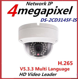Dome cctv sD online shopping - CCTV Camera New DS CD3145F IS MP Mini Dome Camera IR Network IP Camera Support PoE and SD card store multi language firmware