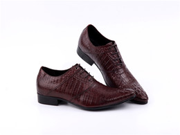 $enCountryForm.capitalKeyWord NZ - 2016-18 new handmade genuine leather Pointed Toe Metal Tip Embroidered Men Dress Shoes Men's Party Wedding Shoes Plus size US12 size 46