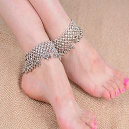 Discount girls cute anklet feet - Bohemian Infinity Heart Cute Jingle Bells Tassek Anklet Ankle Foot Chain Barefoot a for Women Girl Jewelry Wholesale 12