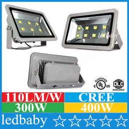 Cree Canopy lights online shopping - 300W W CREE Led Floodlights Outdoor Canopy Led Lights Super Bright Led Flood Garden Lights AC V ce ul