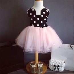 decorative clothes 2019 - 2016 Summer Girl Dress Baby Girls Dresses Princess Party TuTu Dresses Sequins Decorative Kids Clothes cheap decorative c
