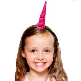 Bored Hair UK - 20 PCS New unicorn hair band pony bear unicorn headband Princess unicorn birthday party headdress