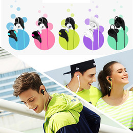 Wireless Exercise Headphones Canada - QY7 Wireless Stereo V4.1 Bluetooth Sports Running Headphone Gym Exercise Mini Lightweight Earbuds Headset for Smartphone All Mobile Phones