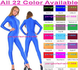 sexy green catsuit 2018 - Sexy Body Suit New 23 Color Lycra Spandex Suit Catsuit Costumes Unisex Cosplay Costumes Sexy Bodysuit Halloween Fancy Dr