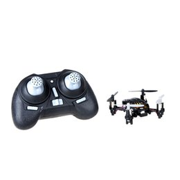 Mini Gyro Quadcopter UK - Mini RC Toy H1 4CH 6-Axis gyro Climbing Wall RC UFO Quadcopter Children Toys order<$18no track