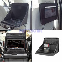 Ordering laptOp online shopping - 1 X Car Laptop Holder Tray Bag Mount Back Seat Auto Table Food Work Desk Organizer order lt no track