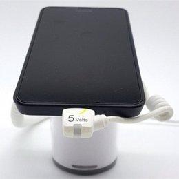 (30 компл. / Упак.) 360 градусов повернуть сотовый телефон охранная сигнализация стенд планшетный дисплей держатель колодки охранная сигнализация розничная противоугонное крепление
