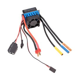 Brushless Speed Controller For Electric Canada - 45A Brushless ESC Electric Speed Controller with 5.8V 3A SBEC for 1 10 RC Car order<$18no track