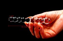 $enCountryForm.capitalKeyWord Canada - BDSM Gear Male Female Urethral Masturbator Masturbation Beads Glass Pyrex Urethra Stimulator Pulling Beads Fetish Sex Toy For Men and Women