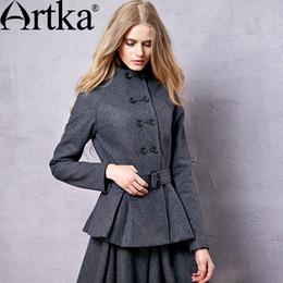 Korean Dark Grey Wool Coats Online | Korean Dark Grey Wool Coats ...