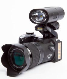 digital camera sd cards 2018 - New POLO D7200 Digital Camera 33MP FULL HD 1080P 24X Optical Zoom Auto Focus Professional Camcorder 1PCS DHL Shipping di