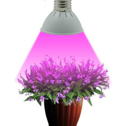 led lamps for plants UK - Full Spectrum E27 10W 86Red&20Blue LED Grow Lights Hydroponics Plant Lamp Best For Growing and Flowering------Limited Time Offer