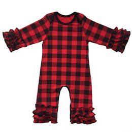 $enCountryForm.capitalKeyWord UK - Wholesales Fall Long Sleeve Newborn Toddler Jumpsuit Fashion Flower Print Baby Girls Clothing Romper Free Shipment