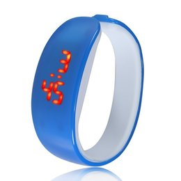 Screen Candy Canada - Utop2012 GIFT UNISEX Mens LED Date Sports Bracelet Digital Watch Kids LED Touch Screen Candy Strap watch
