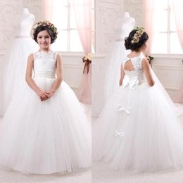 Discount Kids Pink Bridal Dress 2017 Kids Pink Bridal Dress on