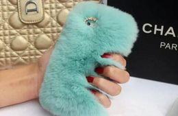 $enCountryForm.capitalKeyWord NZ - Real rex Rabbit soft Fur Phone diamond cover Case For Iphone X 8 7 6 6S Plus 5C Samsung Galaxy Note 5 4 S7 S6 Edge S5 S4 s8 new hot 2018