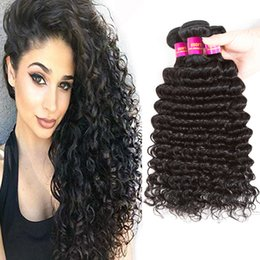 Discount indian hair extensions price 2018 indian hair deep wave brazilian human hair weaves 100 unprocessed human hair extensions 3bundles brazilian human hair weave bundles wholesale price discount indian pmusecretfo Image collections
