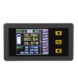 Опт Freeshiping цифровой беспроводной Амперметр вольтметр двунаправленное напряжение ток тестер Измеритель мощности Кулоновский счетчик постоянного тока 0.01-100Vdiagnostic-инструмент