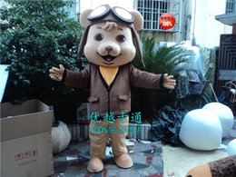 Óculos de urso Mascot Costume Fancy Dress Adulto Partido Event Outfit A3