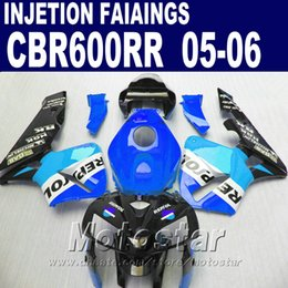 $enCountryForm.capitalKeyWord NZ - Blue one! Injection Molding for HONDA CBR 600 RR fairing 2005 2006 cbr600rr 05 06 cbr 600rr custom fairing H6SE