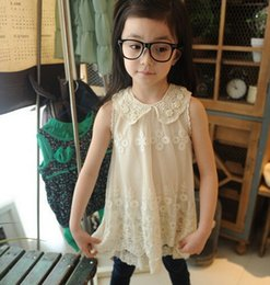 $enCountryForm.capitalKeyWord Canada - The cheapest ! !Summer New Girls Flowers Pearl Collar Korean version Japanese-style Lace dress ladies Tutu Dress