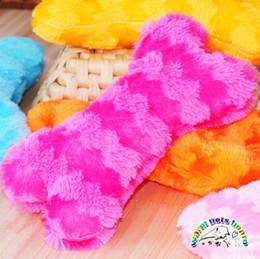 wj002 dog suppliers wholesale plush dog toy 2111cm bone squeaky toys puppy toys pet dog chew toy