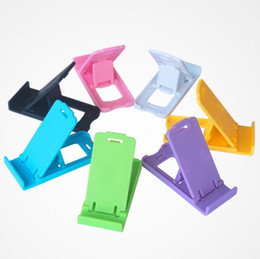 wholesale tablets for sale NZ - Hot Sale Universal Foldable Adjustable Stand Mini Holder Compact Plastic Stand Desktop For Cell Phone Tablet