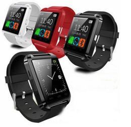 $enCountryForm.capitalKeyWord Canada - Smart watch U8 Bluetooth Anti-lost 1.5 inch Wrist Watch U Watch For Smartphones iPhone Android Samsung HTC Cell Phones 10pcs DHL Free Ship