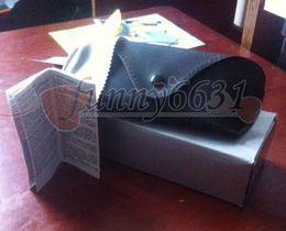 Venta al por mayor de Verano nuevas mujeres y hombres gafas de sol caja bolsa caja de tela gafas gafas caja original envío gratis
