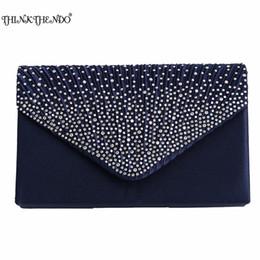 $enCountryForm.capitalKeyWord NZ - 2017 Luxury Shiny Hand Bags Big Envelope Clutch Bag Glitter Ladies Wedding Bags Evening Bags For Women Party Black purse Handba