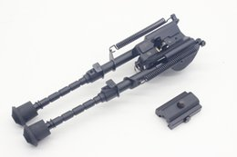 $enCountryForm.capitalKeyWord NZ - 6-9 Inch Harris Style Tactical Bipod 5 Levels Adjustable Spring Extending Legs Picatinny Rail Adapter