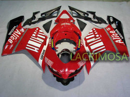 $enCountryForm.capitalKeyWord Canada - ABS Fairing for DUCATI 1098 848 1198 plastic body kits bodykits Injection Mold-RED Alice