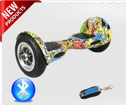 Two wheel self balancing boards online shopping - 10 inch big tire mini smart self balance scooter two wheel smart self balancing electric drift board scooter