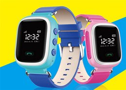 $enCountryForm.capitalKeyWord Canada - Smart Phone Watch Children Kid Wristwatch Color GSM GPRS GPS Locator Tracker Anti-Lost Smartwatch Child Guard for Android Q60