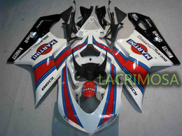 1198 Fairings Canada - ABS Fairing for DUCATI 1098 848 1198 plastic body kits bodykits Injection Mold-Martini
