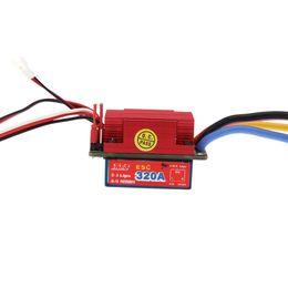 Car Esc UK - 320A High Voltage ESC Brushed Bidirection Speed Controller for 1 8 1 10 RC Car order<$18no track