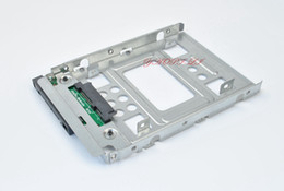 Wholesale 654540 quot SSD to quot SATA Hard Disk Drive HDD Adapter CADDY TRAY CAGE Hot Swap Plug