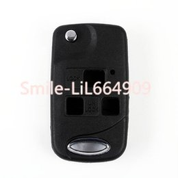 $enCountryForm.capitalKeyWord Canada - Keyless Entry Smart Uncut Flip Folding Remote 3 Buttons Replacement Car Key Fob Case Shell for Lexus Es Gs Rx Ls Lx Rx Sc