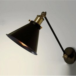 warehouse style lighting. New Design American Country Loft Swing Arm Wall Sconce Retro Warehouse Ambient Lighting Glass Lampshade Industrial Style Lamp
