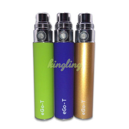 Ego T Ce4 Colorful Canada - EGO Mini eGo-T battery E-cigarette colorful 350mah mini battery adapter to BBC MT3 CE4 CE5 GS-H2 atomizer ego battery DHL Free