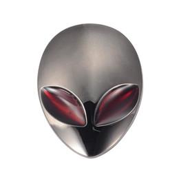 $enCountryForm.capitalKeyWord Canada - Gunmetal Car 3D Logo Metal Aliens Auto Truck Motorcycle Emblem Badge Sticker Decal